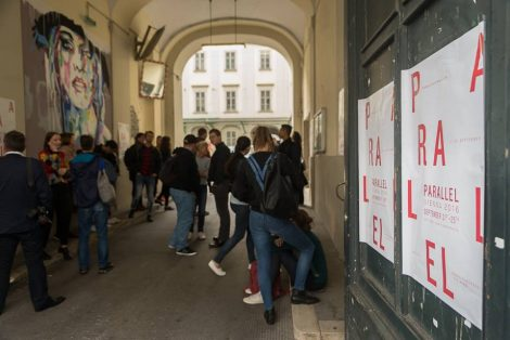 Parallel Vienna, Fotowerk Wien, Alles wird gut, mit Romana Dorant, Kris Kind, Kamikatse und Robert Rutöd